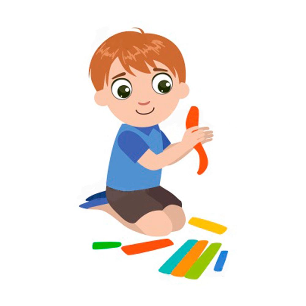 Лепит картинки для детей